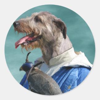 Irish Wolfhound Sticker Nobility Dogs Gift