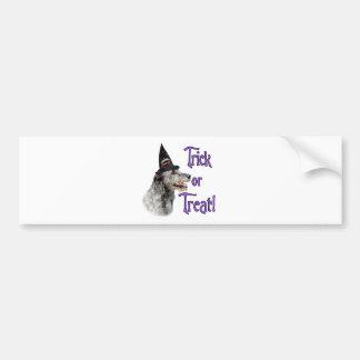 Irish Wolfhound Trick Bumper Sticker