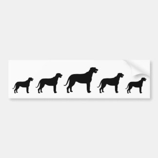 Irish Wolfhounds Bumper Sticker
