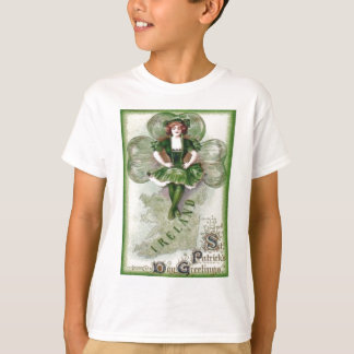 Irish Woman Ireland Shamrock Riverdance Tee Shirt