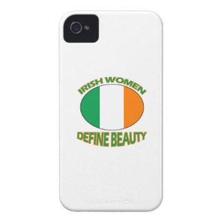Irish women designs iPhone 4 Case-Mate cases