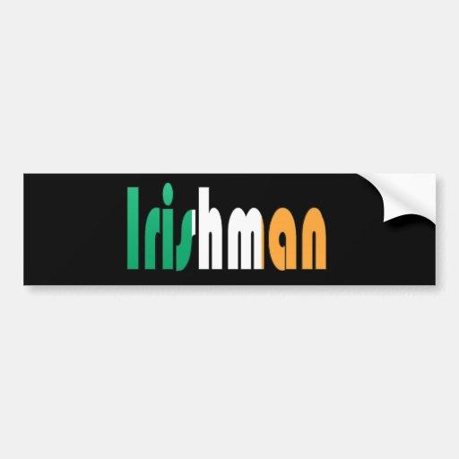 irishman bumper sticker