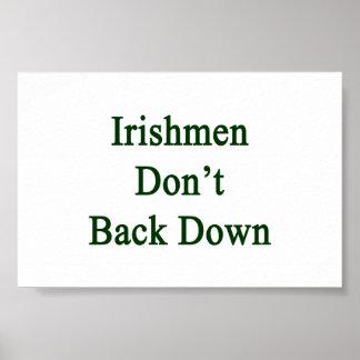 Irishmen Don't Back Down Poster