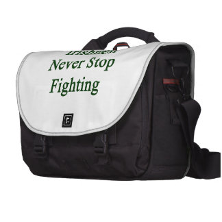 Irishmen Never Stop Fighting Commuter Bags