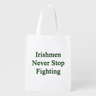 Irishmen Never Stop Fighting Market Totes