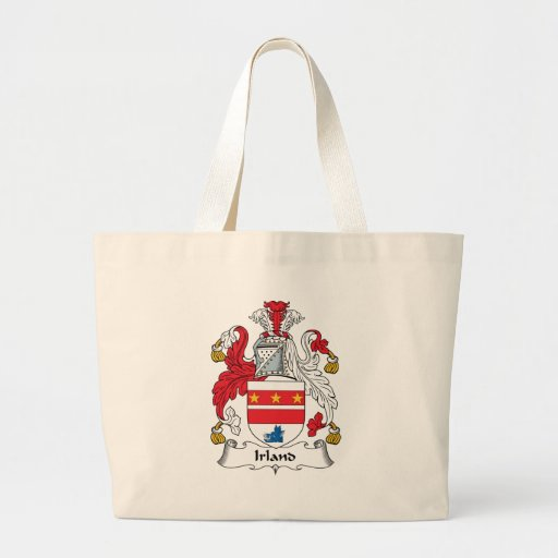 Irland Family Crest Tote Bag