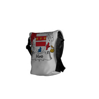 Irland Family Crest Courier Bags
