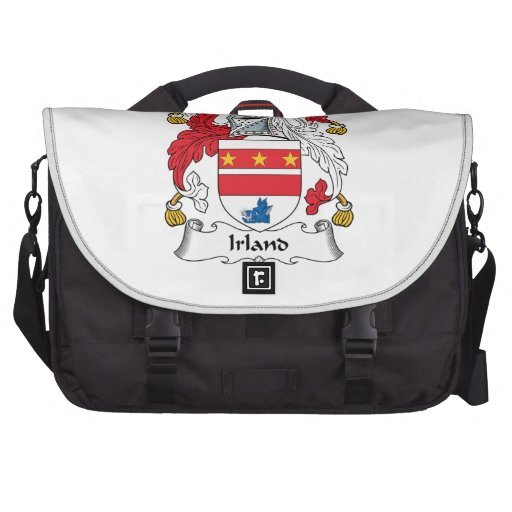 Irland Family Crest Laptop Bag