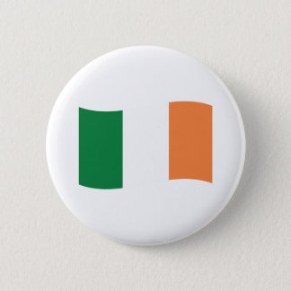 irland flag 6 cm round badge