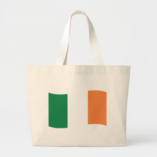 irland flag canvas bag
