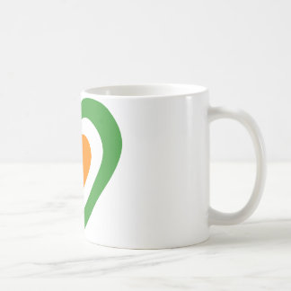 irlanda-heart. basic white mug