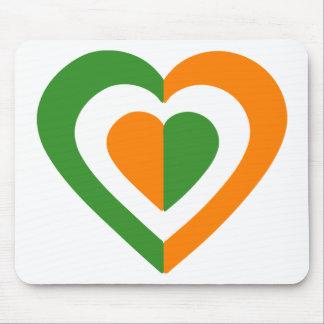 irlanda-heart mousepad