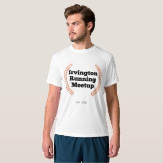 IRM Men's New Balance T-Shirt - Orange