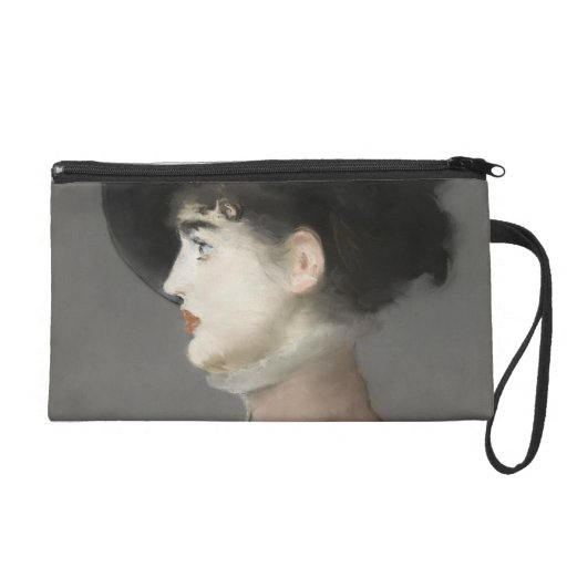 Irma Brunner by Edouard Manet Wristlet Clutch