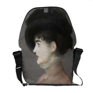 Irma Brunner by Edouard Manet Courier Bag