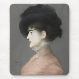 Irma Brunner by Edouard Manet Mouse Pads