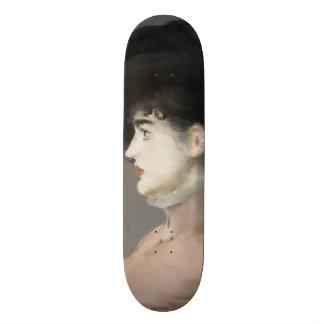 Irma Brunner by Edouard Manet Skate Board Decks