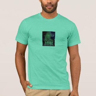irobot roomba cat UFO alian flying T-Shirt