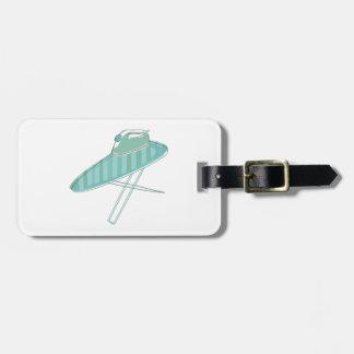 Iron and Board Luggage Tag