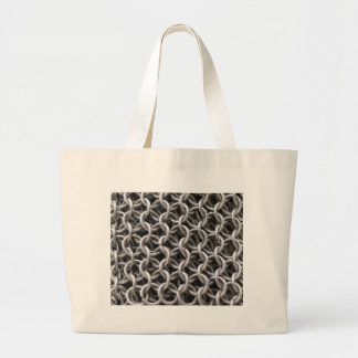 iron armor large tote bag