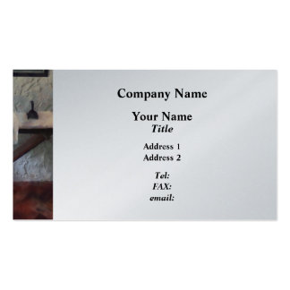 Iron Board and Iron Business Card Templates