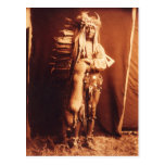 Iron Breast , a Piegan Native American Indian Postcard