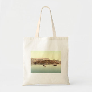 Iron Bridge, Ramsay, Isle of Man, England Tote Bag