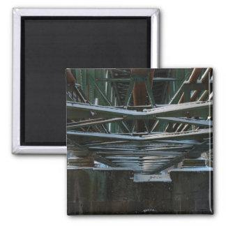 iron bridge square magnet