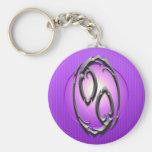 Iron Cancer Symbol, purple