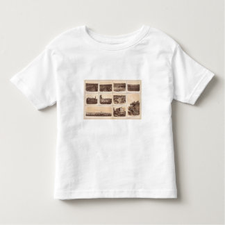 Iron clads, Engine Hero, rebel lines, buildings Toddler T-Shirt