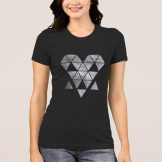 Iron creepy face women's dark Jersey T-shirt HQH