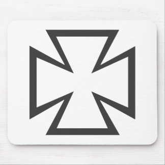 Iron Cross Mouse Pad
