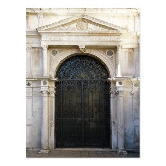 iron door postcard