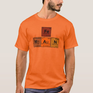 iron [Fe] man T-Shirt