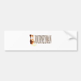 Iron Forge Journeyman Bumper Sticker