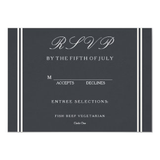 Iron Grille Grey with White Borders and Text 11 Cm X 16 Cm Invitation Card