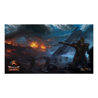 Iron Grip: Warlord Scorched Earth Poster