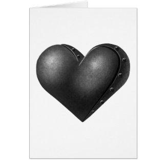Iron Heart Greeting Card