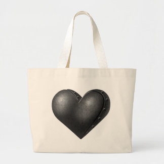 Iron Heart Large Tote Bag
