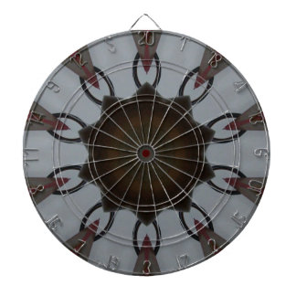 Iron Hooks Kaleidoscope Dart Board