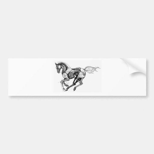 Iron Horse Bumper Stickers
