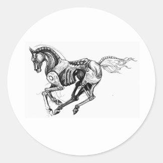 Iron Horse Classic Round Sticker