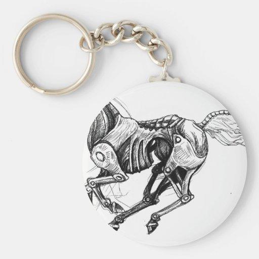 Iron Horse Keychain