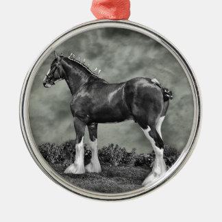 Iron Horse Steele Christmas Ornament