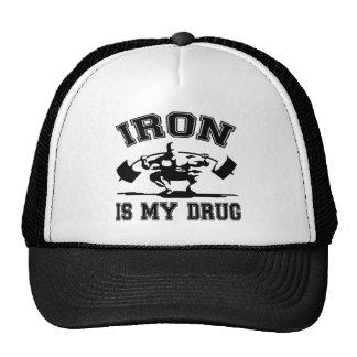 Iron Is My Drug Cap