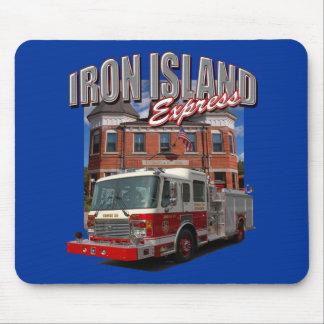 Iron Island Express Mousepad