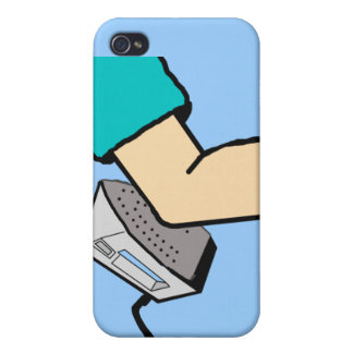 Iron Knee iPhone Case Covers For iPhone 4