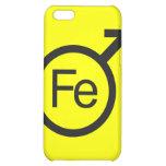 Iron Man Male gender symbol Fe design iphone case iPhone 5C Cases