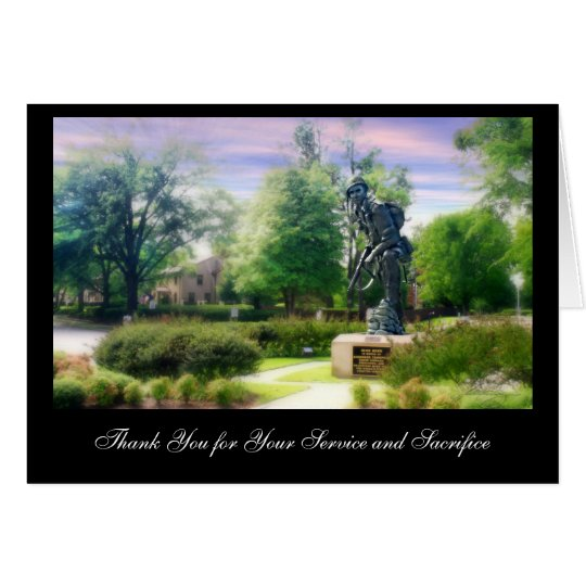 Iron Mike Thank You for You... Card