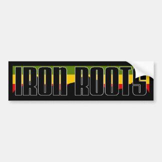Iron Roots Bumper Sticker - Classic